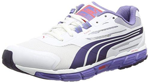 Puma Faas 500 Support V2 W Damen Trainieren/Laufen White (White-Astral Aura-Bleached Denim)