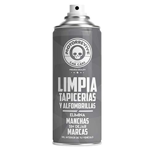 Motorrevive - Limpia Tapicerias y Alfombrillas Coche Profesional - 400 ml