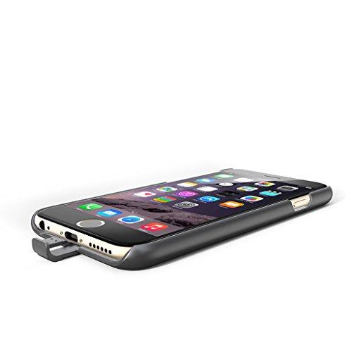 ECHTPower Qi Récepteur de Charge Coque de Protection Induction Sans fil pour iPhone 6 / iPhone 6S r¨¦cepteur coque pour iPhone6/6S plus