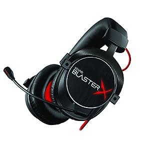 Creative Sound BlasterX H7 Tournament Edition HD 7.1 Surround-Gaming-Headset mit doppelter Tonsignatur
