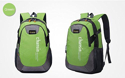 Igemy Wasserdicht Nylon Rucksack Reisetasche Rucksack Trekking Tasche Grün