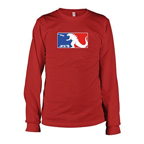 TEXLAB - GO JI RA! - Langarm T-Shirt Rot