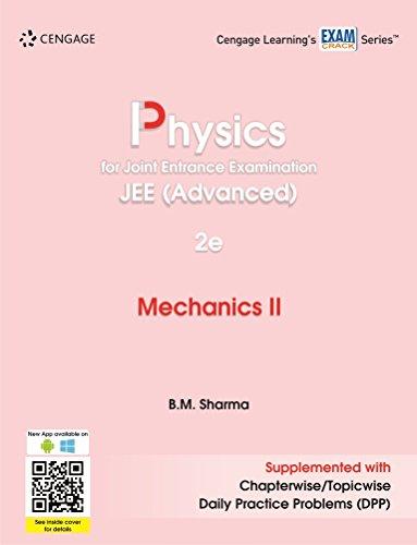 Physics for Joint Entrance Examination JEE (Advanced): Mechanics II(2e)