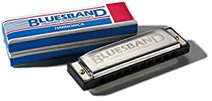 Hohner M559S Enthusiast Series Blues Band Harmonica, Diatonic, Key C