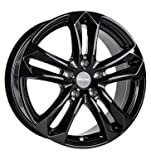 CARMANI 05 Arrow black 7,5x17 ET35 5.00x112 Hub Bore 66.60 mm - Alu felgen