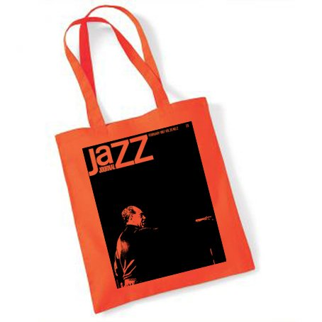 jazz-journal-feb-1967-tote-bag-orange