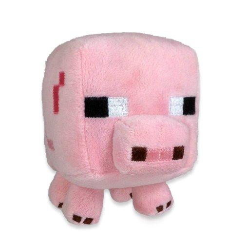 Minecraft 16526 - Plüschfigur Babyschwein (Top Shirt Mod)