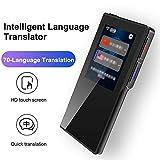 AMY Smart Voice Translator Gerät, Smart Zweiweg WiFi 2.4 Zoll Touch Screen Tragbare Übersetzungs 70 Sprache Für Traffic Travel Shop Lernen Austausch