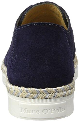 Marc O'Polo 70113993201300 Loafer, Mocassins Femme Bleu foncé