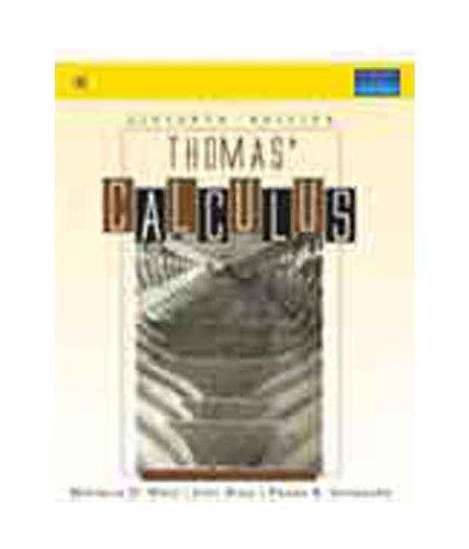 Thomas Calculus 11th Edition 11th Edition price comparison at Flipkart, Amazon, Crossword, Uread, Bookadda, Landmark, Homeshop18