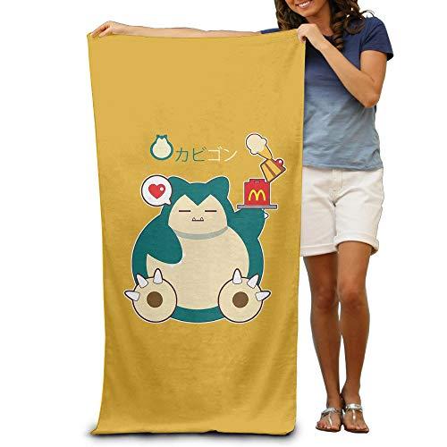 Dress rei Snorlax Logo Unisex Beach Towel/Bath Towel/Pool Towel