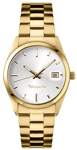Tamaris - B03101000 - Montre Femme - Quartz - Analogique - Bracelet Acier Inoxydable Doré