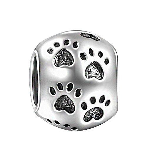 Soufeel-Chien-Empreintes-de-Pattes-Perle-en-Argent-Sterling-925-Charm-Pour-Charms-Colliers-Bracelet