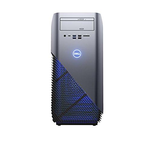 Dell Inspiron 5675 Desktop (AMD R7-1700X 8C16T, 16GB RAM, Dual Festplatte: 256GB/1 TB, NVIDIA GTX1060 6GB, W10) silber Desktop-tastatur Von Dell