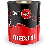 Maxell DVD-R 4.7GB 100 Pack 4,7 GB 100 pieza(s) - DVD+RW vírgenes (4,7 GB, DVD-R, 120 mm, 100 pieza(s), 120 min, Eje)