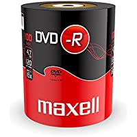 DVD-R Maxell 16X, 4,7GB in shrink da 100 pezzi