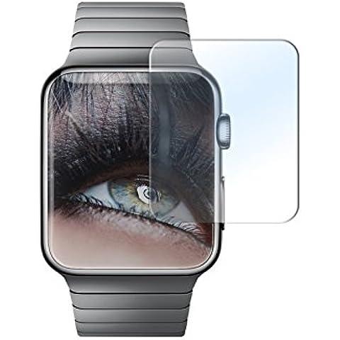 Protector de pantalla de vidrio templado para Apple Watch (38 mm) - 9H / 2.5D - Cristal Tempered Glass