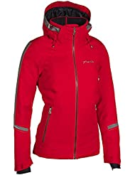 Phenix Crescent Jacket–Chaqueta de esquí para mujer, rojo, 38