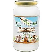 Aceite de Coco para animales–Un Natural eficaz protección contra garrapatas, antiácaros, parasiten & piel cuidado sin Química