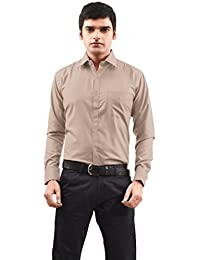 Shirt Rajvila Solid Color Polycotton Formal Mens Wear Shirt