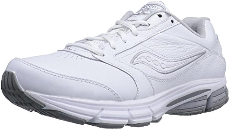 Saucony Men's Echelon LE2 Walking Shoe  Blanco/Plateado  40.5 DM EU/6.5 DM UK