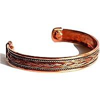 Krystal Gifts UK Reiki Energie Geladene Kupfer Chakra Balancing Armband (Design 1) preisvergleich bei billige-tabletten.eu