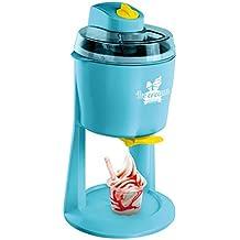Máquina de hielo helado Automat helado eléctrica 1200ml (Heladera, llano Heladera, Sorbet, yogur, turquesa)