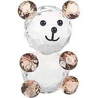 H y D elección de cristal figura de oso pisapapeles o Regalo, buena suerte, Pink Bear