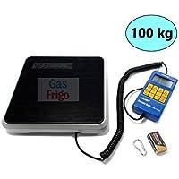 Báscula electrónica 100 kg Gas Refrigerante R404 A R410 ...
