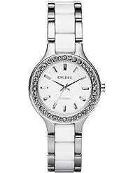 DKNY Damen-Armbanduhr Analog Quarz Keramik NY8139