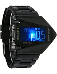 Jainx Digital Black Dial Boys Watch-Jm1023