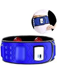 LLYY® Cinturones de Masaje/Cinturón Adelgazamiento Electroestimuladores Musculares/Perder Grasa Abdominal Masaje Vibratorio