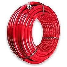 rot 50/% EnEV 25m 26 x 3,0 mm 13mm isoliert Aluminium-Mehrschichtverbundrohr