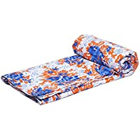 Jaipur Textil Hub Dabu bedruckt 5yard Baumwollbatist Block Print Traditionelle blaue Farbe Running Stoff nähen Stoff indischen Design (jth-rund-61)