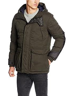 G-STAR RAW Expedic Hooded Cotton Jacket, Chaqueta Hombre, Dk Saru Bl