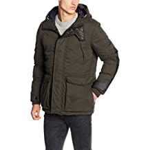 G-STAR RAW Expedic Hooded Cotton Jacket, Chaqueta Hombre, Dk Saru Bl