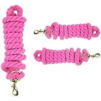 xiaohang dang - Cuerda de algodón Rosa de Calidad con Clip para gatillo (2 Metros)