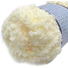 Lana de tejer suave y cálida para chenilla, para toallas, abrigos, suéteres,