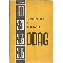 Instrucciones y recetario Odag