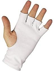 ND Série Club de cricket de batteur sans doigts Lot Batsman intérieure en coton Gants pour homme