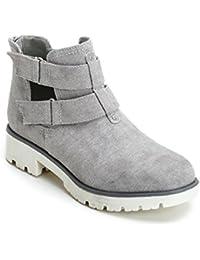 Amazon.it  scarpe con apertura laterale  Scarpe e borse e9b9a56f9e4