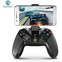 Bunner GameSir G4 Bluetooth Gamepad con el sostenedor del teléfono para Android TV Box Tableta del teléfono con Cable o el regulador inalámbrico para los Juegos de PC VR