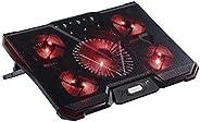 12-15.6 inch laptop Metal mesh Ergonomics Five fans Air-cooled Cooler Computer USB Fan Stand for Notebook
