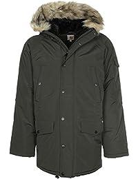 Carhartt Hombre Anchorage Parka Jacket, Verde