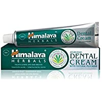 Himalaya Herbals Dental Cream Toothpaste 100g, Zahnpasta mit entzündungshemmenden Eigenschaften für den Schutz des Zahnfleisches