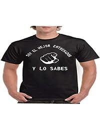 Camisetas divertidas Parent Mejor Entrenador y lo Sabes - para Hombre Camiseta