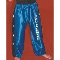 Pantalón de Full Contact Raso (Azul/Detalle Negro) 3 Tallas (XL-1,90)