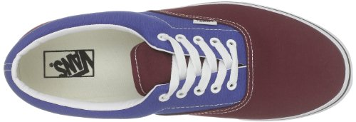 Vans U ERA Sneaker, Unisex adulto Rosso (Rouge / Bleu (Tawny port/true blue))