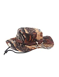 aloiness Ripiegabile e Modellabile Donna Bucket Hat Cappello da Sole per  Viaggio 02911ba7857d
