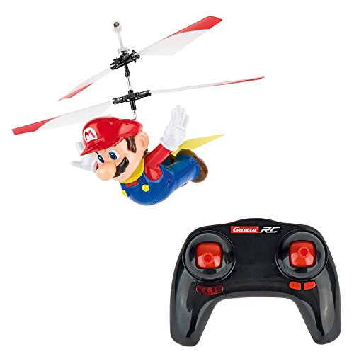 Carrera RC 370501032 Super Flying Cape Mario R/C 503 Hubschrauber (Carrera Slot Car Mario)